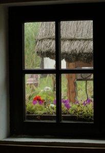 Triple glazed window