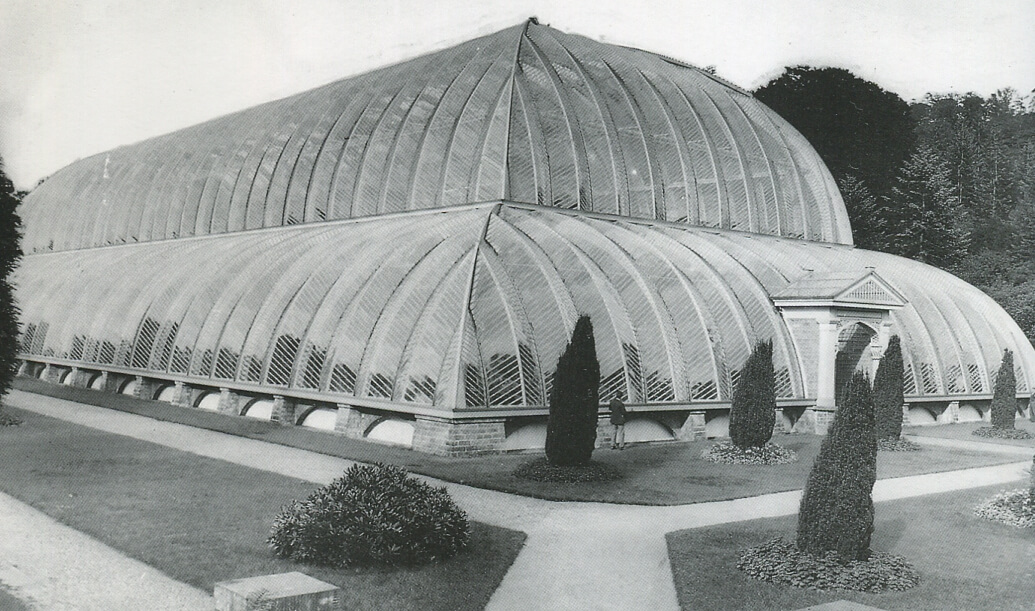 A photo of the Chatsworth Great Conservatory