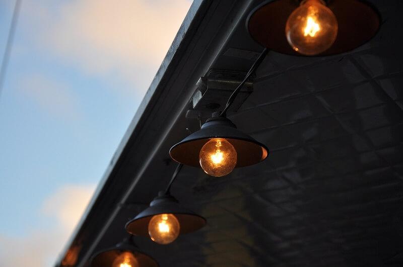 Lights outdoors