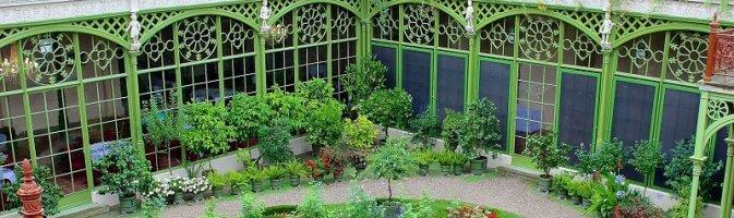 Orangery and garden