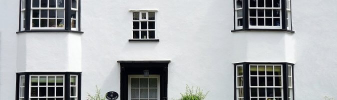 Vintage windows and doors