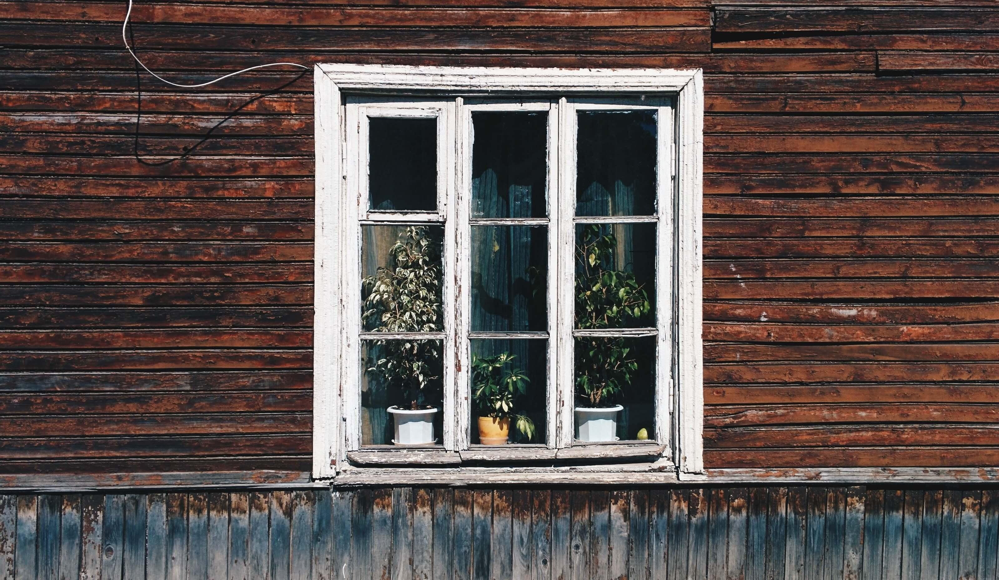 Timber window frame