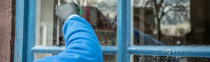 Window cleaning guidance