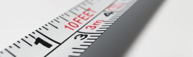 Measure up for folding sliding doors